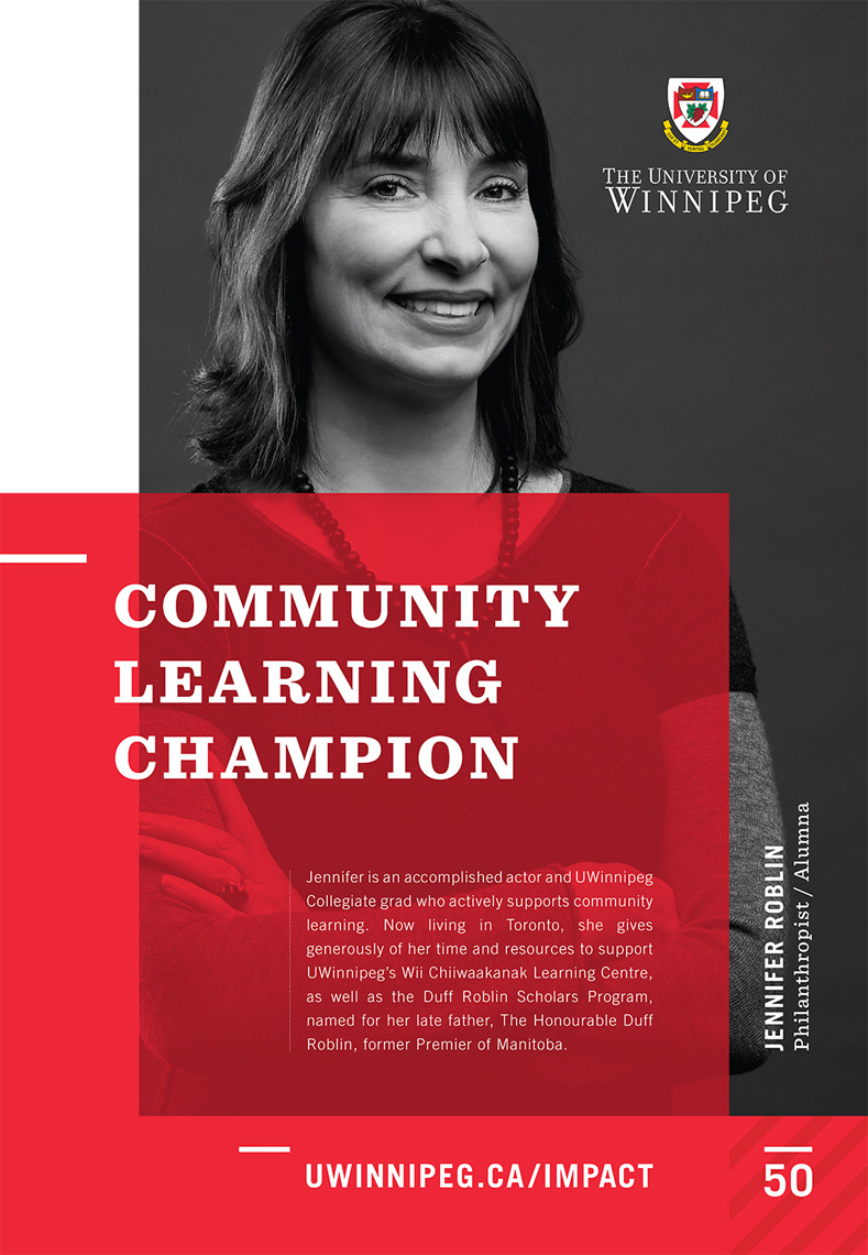 University of Winnipeg - Impact Campaign